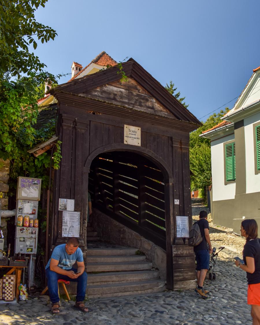 Scara acoperita - Sighișoara, România