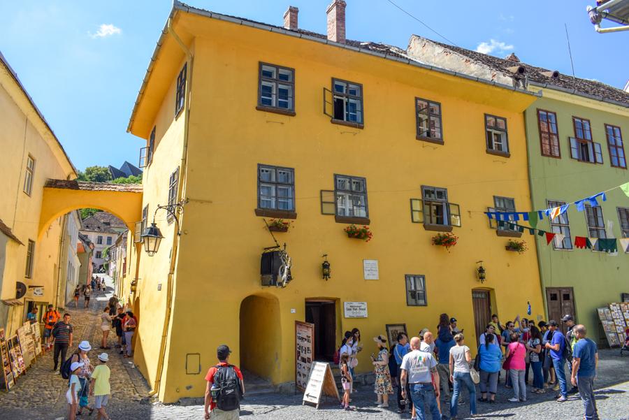 Casa Vlad Dracul - Sighișoara, România