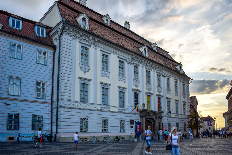 Sibiu, Romania - Muzeul Brukenthal