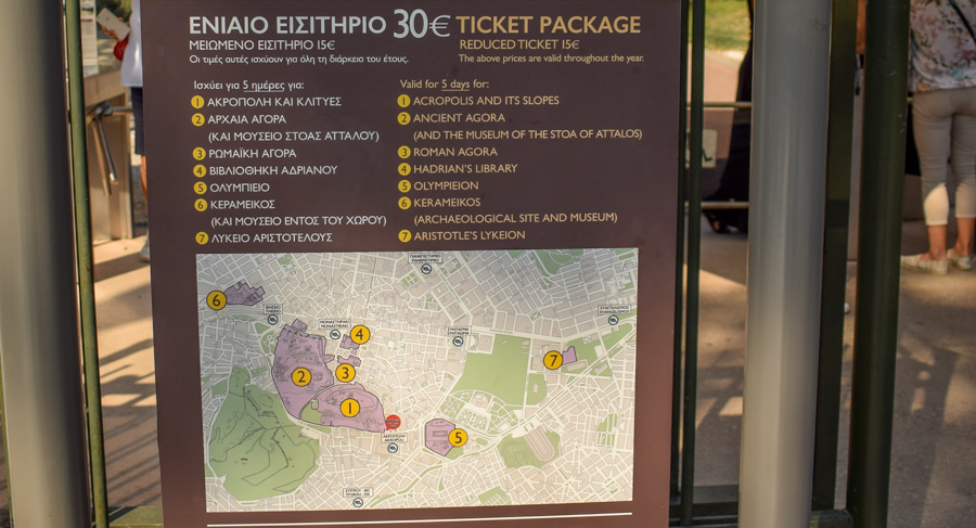 Obiective în Atena