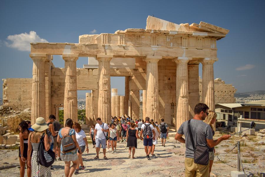 Obiective în Atena - Propilee