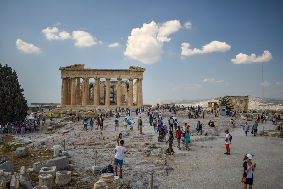 Obiective în Atena - Partenon