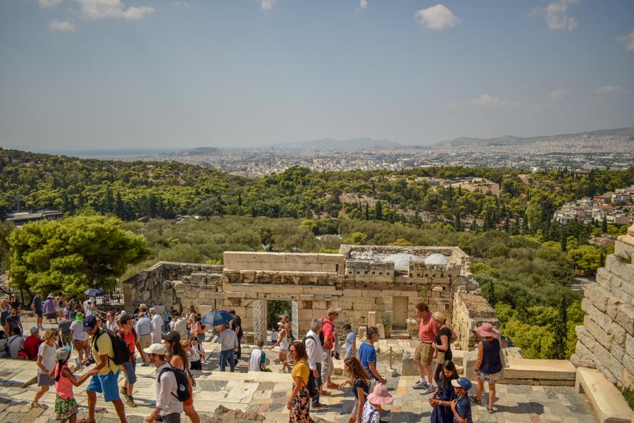 Obiective în Atena - Propilee, Acropole