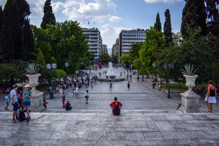 Obiective în Atena - Piața Syntagma