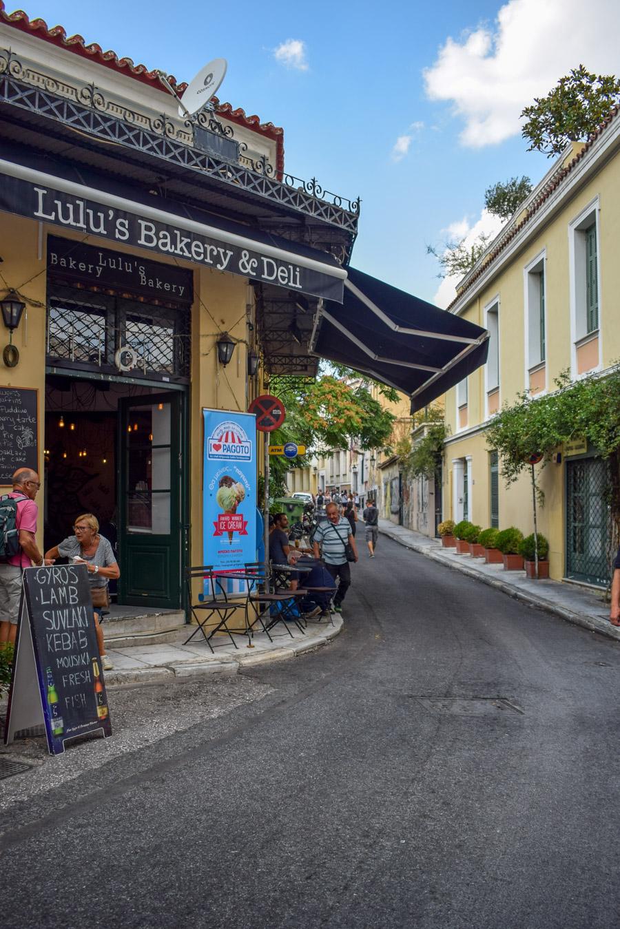 Obiective în Atena - Plaka
