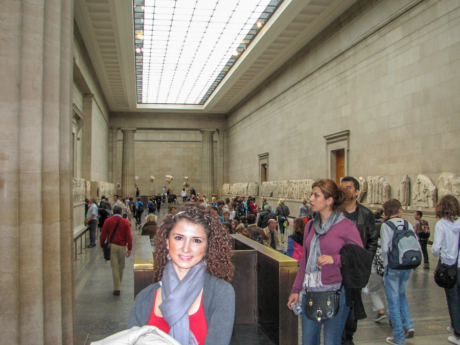 Obiective în Atena - British Museum Londra