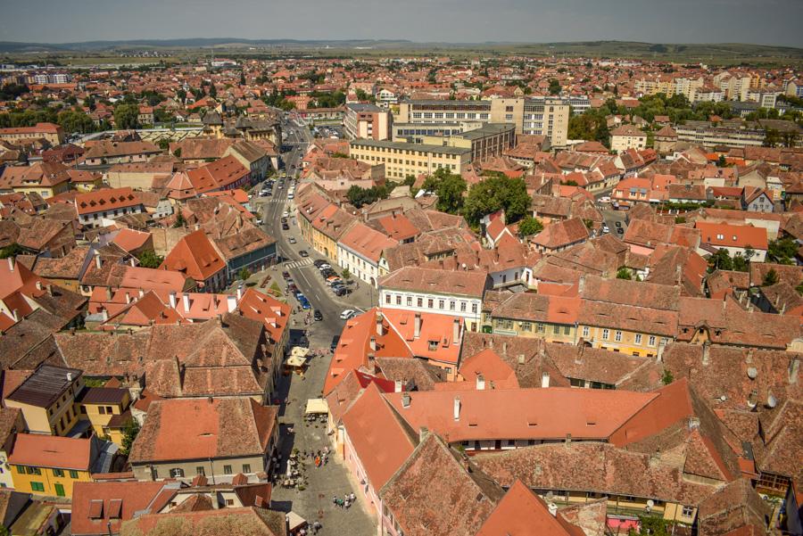 Sibiu, Romania - Biserica Luterană