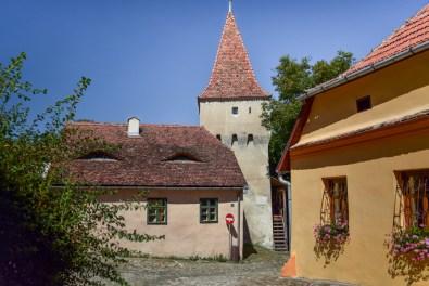 turnul cojocarilor Sighișoara, România