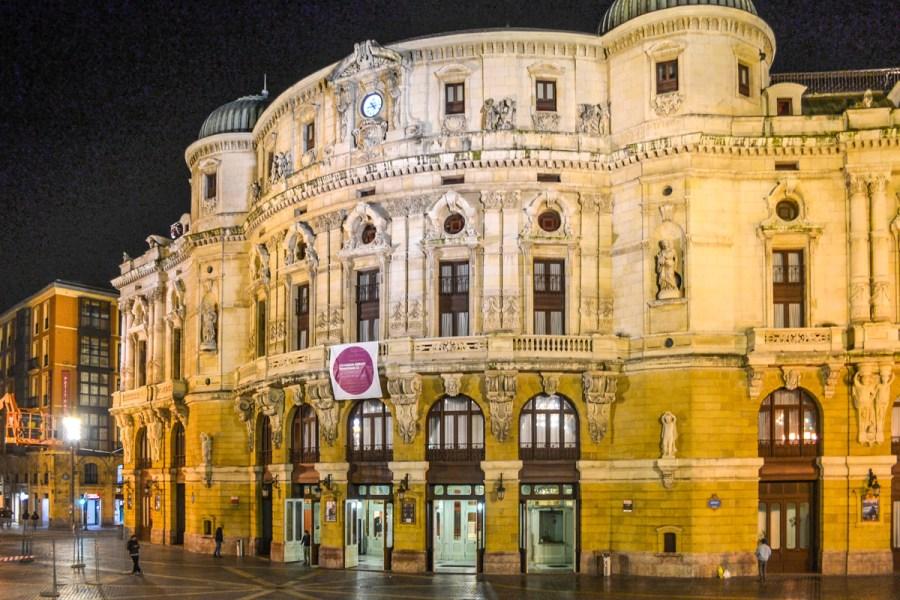 Top 10 obiective de vizitat în Bilbao, Spania - Teatro Arriaga