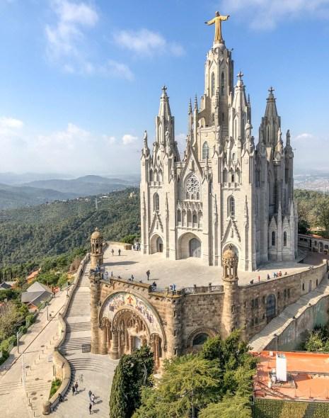 Tibidabo: cea mai frumoasă priveliște din Barcelona