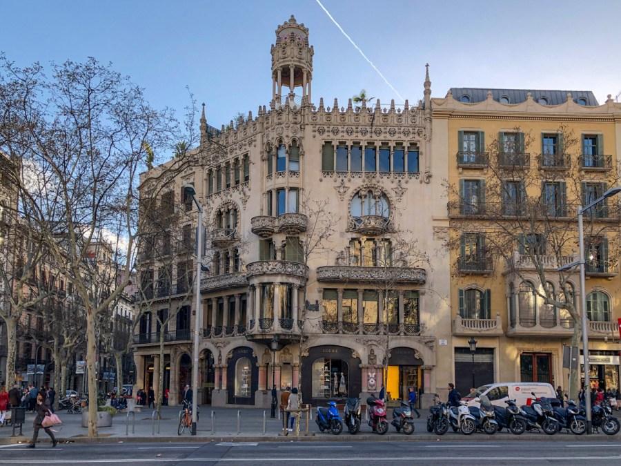Barcelona lui Domènech i Montaner - Casa Lleo Morera