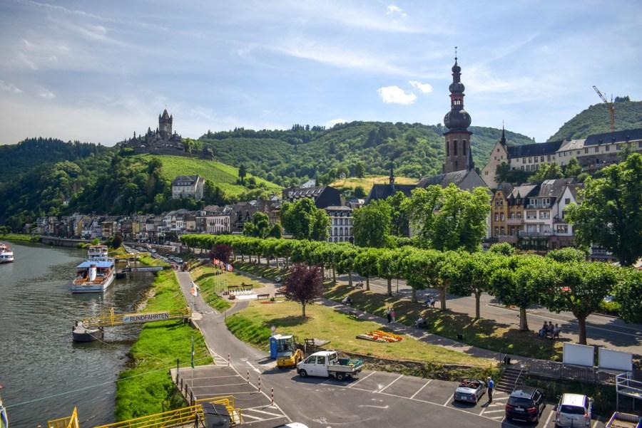 Râul Mosel din Germania - Cochem