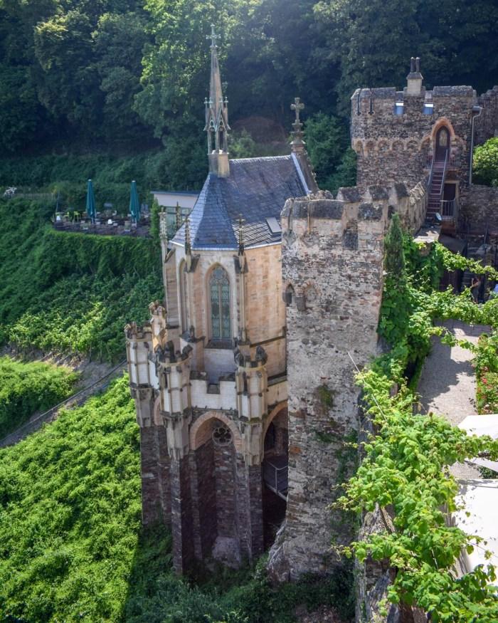 Castelul Rheinstein - Valea Rinului, Germania