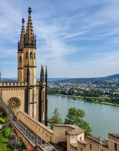 Castelul Stolzenfels - Valea Rinului, Germania