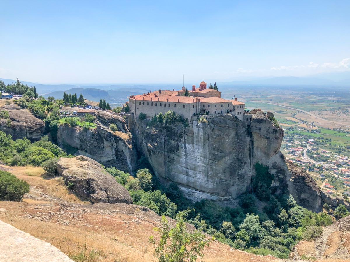Manastirea Sfantul Stefan, Meteora, Grecia