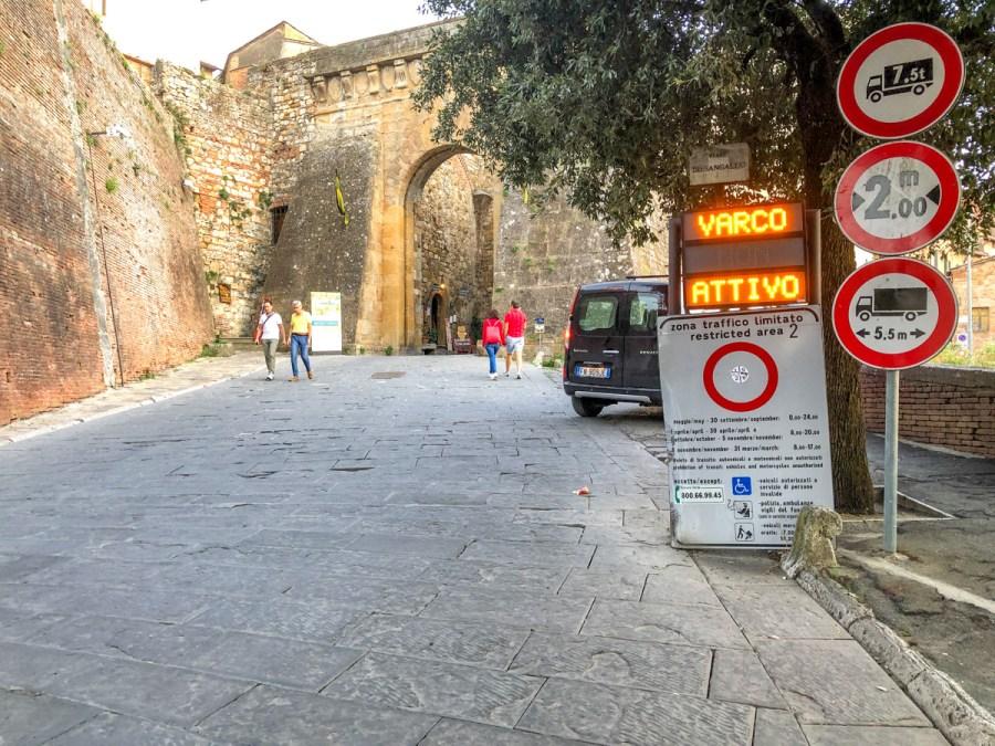Vacanță în Toscana - zonă ZTL