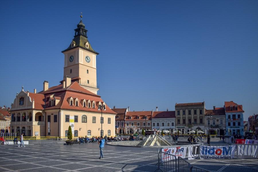 Brașov - piata Sfatului