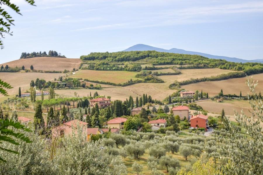 Montichiello, Val d'Orcia, Toscana