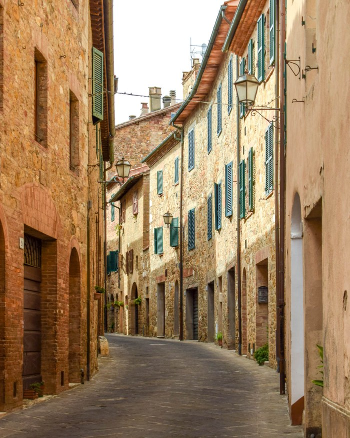 San Quirico d'Orcia, Val d'Orcia, Toscana