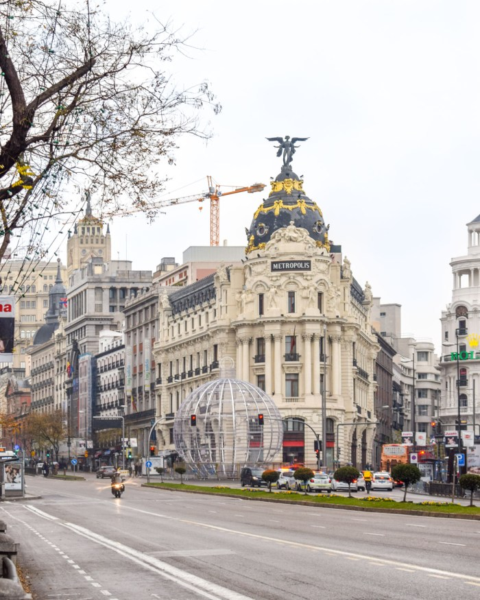 Clădirea Metropolis de pe Gran Via, Madrid