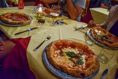 Pizza la Brandi în Napoli