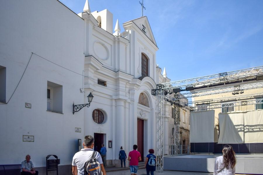 Chiesa di San Michele, Anacapri