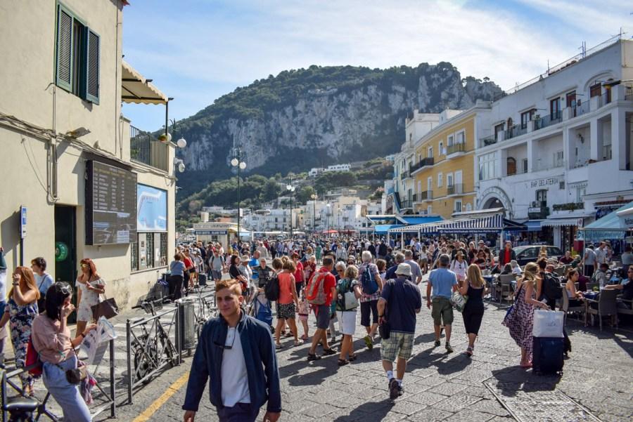 Portul Marina Grande, Capri