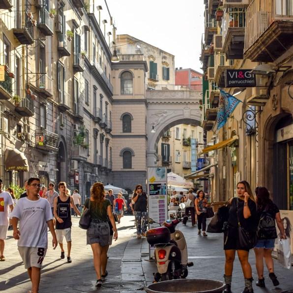 Străduțe din Napoli