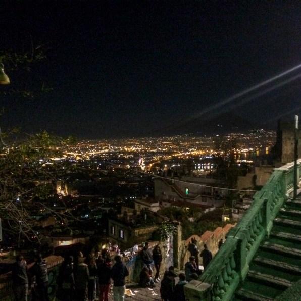 Priveliște de la Castel Sant'Elmo, Napoli