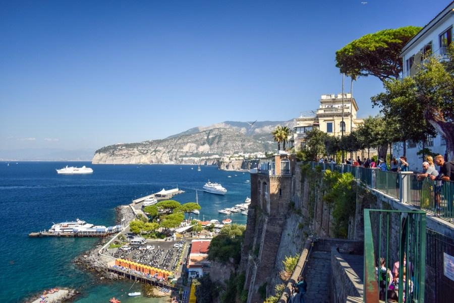 Obiective pe Coasta Amalfi - Sorrento