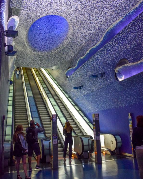 Stația de metrou Toledo