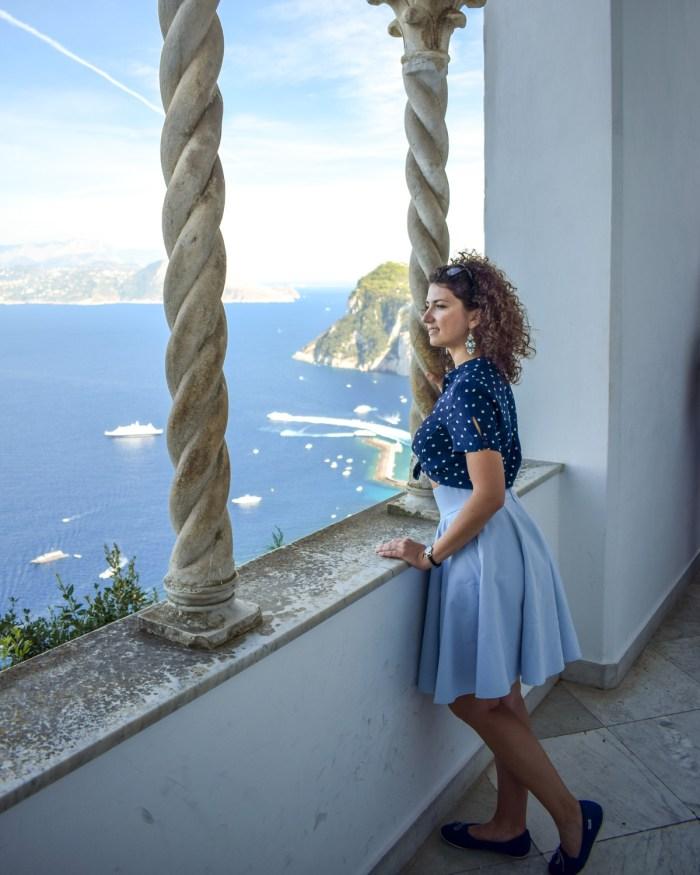 Villa San Michele, Anacapri, insula Capri