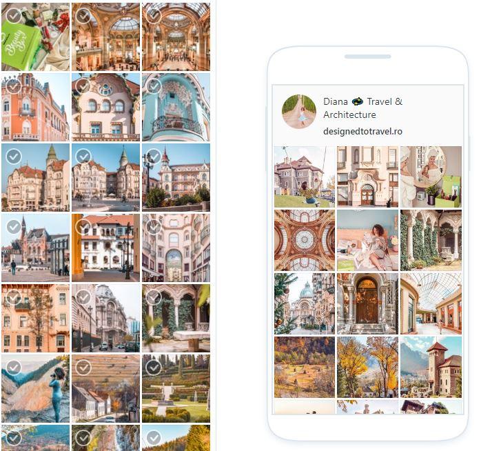 Cum să îți crești contul de Instagram - Later - planificare feed