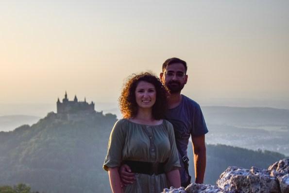 Castelul Hohenzollern și cel mai frumos apus de soare din călătorii