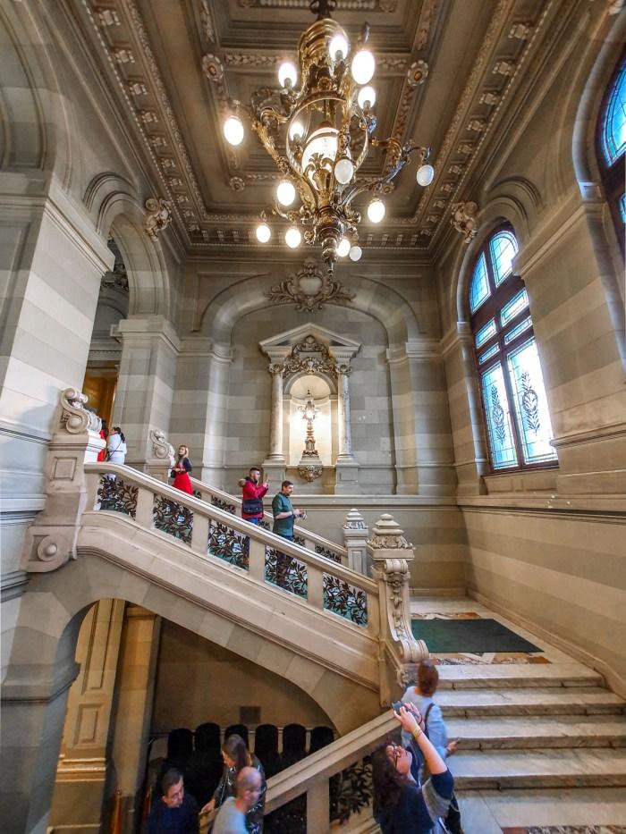 Palatul CEC - interior