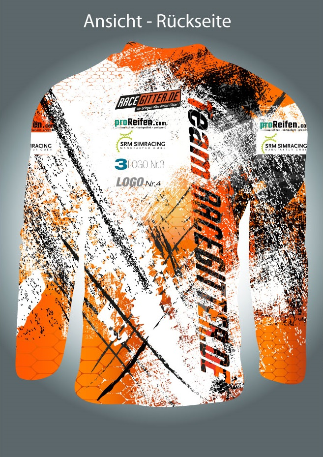 Trikot fr Team Racegitterde  TShirt  designenlassende