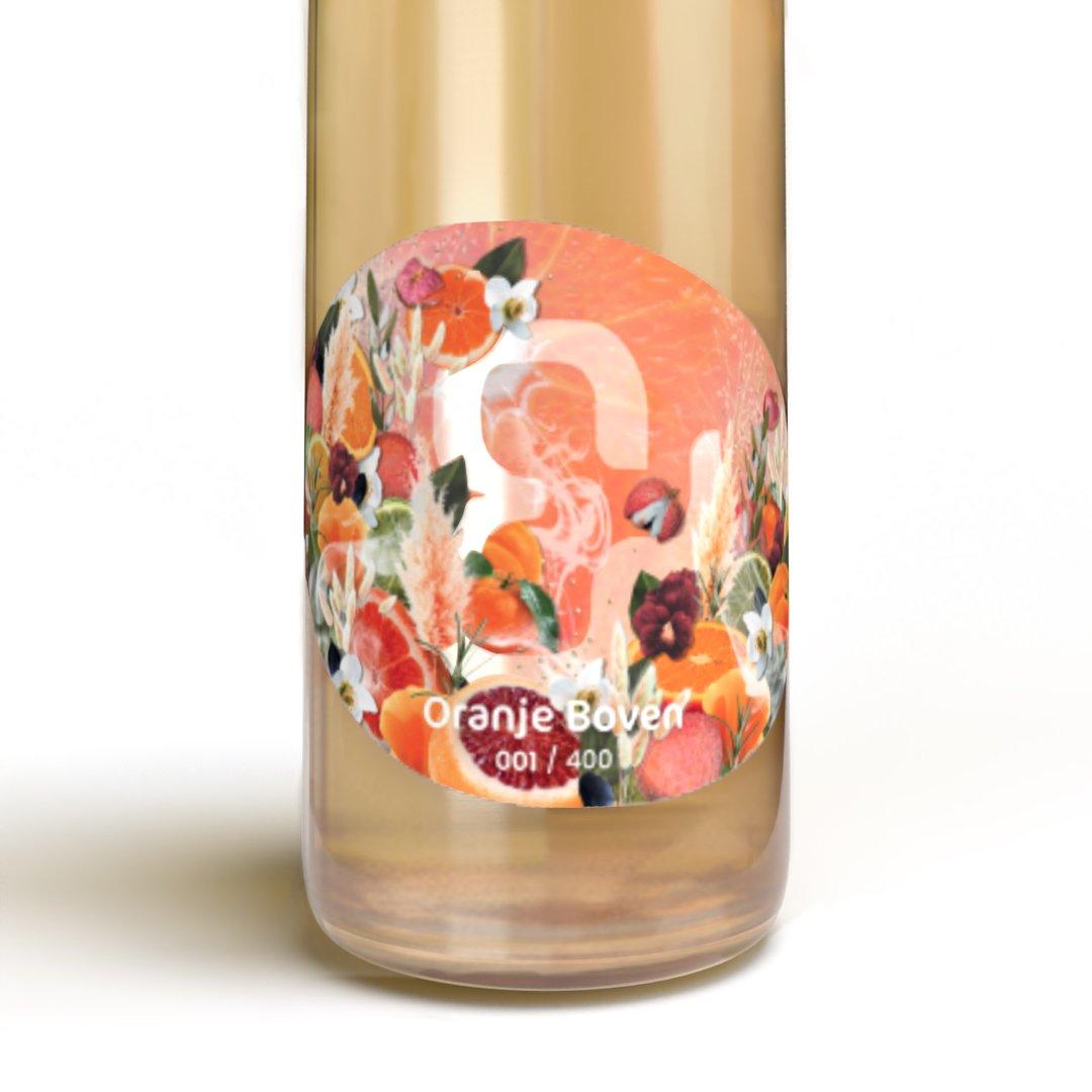 Oranje wijn uit Nederland etiketontwerp Design & Wijn limited edition