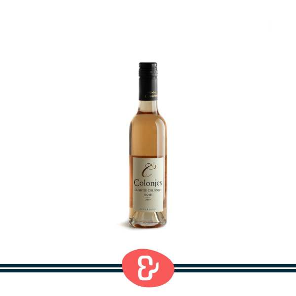 1 Cleintje Colonjes Rosé - Wijnhoeve de Colonjes - Nederlandse Wijn - Design & Wijn Amsterdam