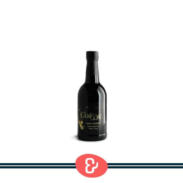 1 Coulisse rood - Versterkt - Wijngoed Gelders Laren - Nederlandse Wijn - Design & Wijn Amsterdam