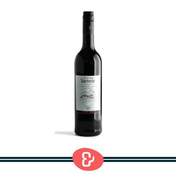 1 Sueterie rood - Twentewijn - Nederlandse Wijn - Design & Wijn Amsterdam