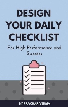 Design Your Daily Checklist