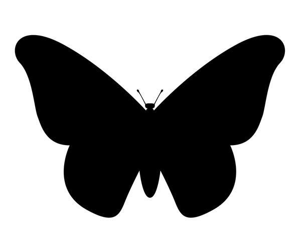 Klassinen perhonen tilavuuden siivet