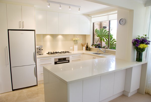 6 Contemporary Kitchen Designs For Small Spaces