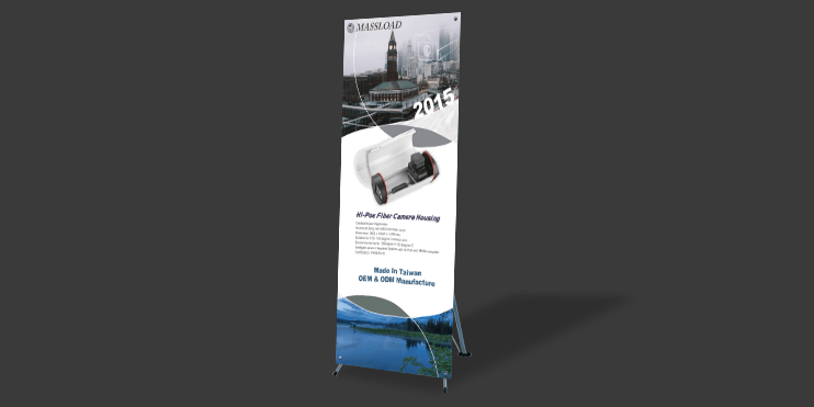 宣傳行銷X(H)型展示架、海報展架、海報支架設計印刷