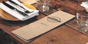 精裝硬殼折式菜單型錄