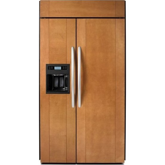 "KitchenAid KSSO36QTB 36"" Side By Side Refrigerator  Panel"