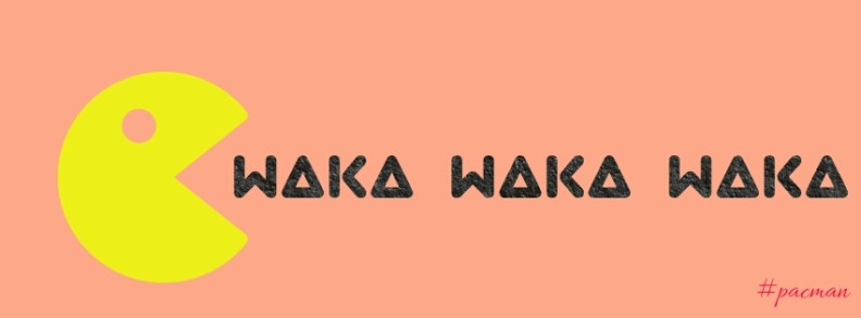 Pac-man waka waka waka sounds