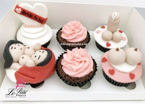 Bride to Be Themed Adult Cup Cakes
