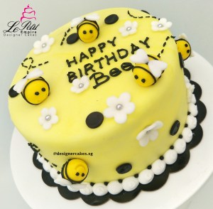 Customized Bee Cake