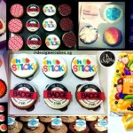 Customized Company Logo Cakes & Cup Cakes